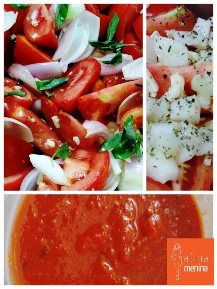 Molho rústico de tomate