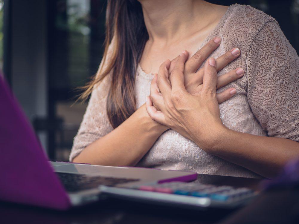 Cinco sinais de que seu coração não anda bem