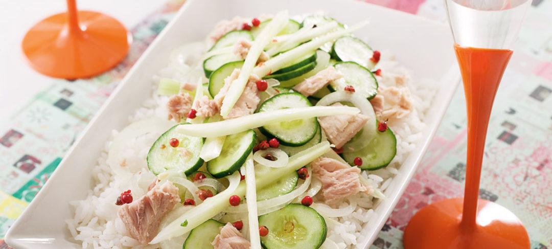 Salada de Arroz Crocante