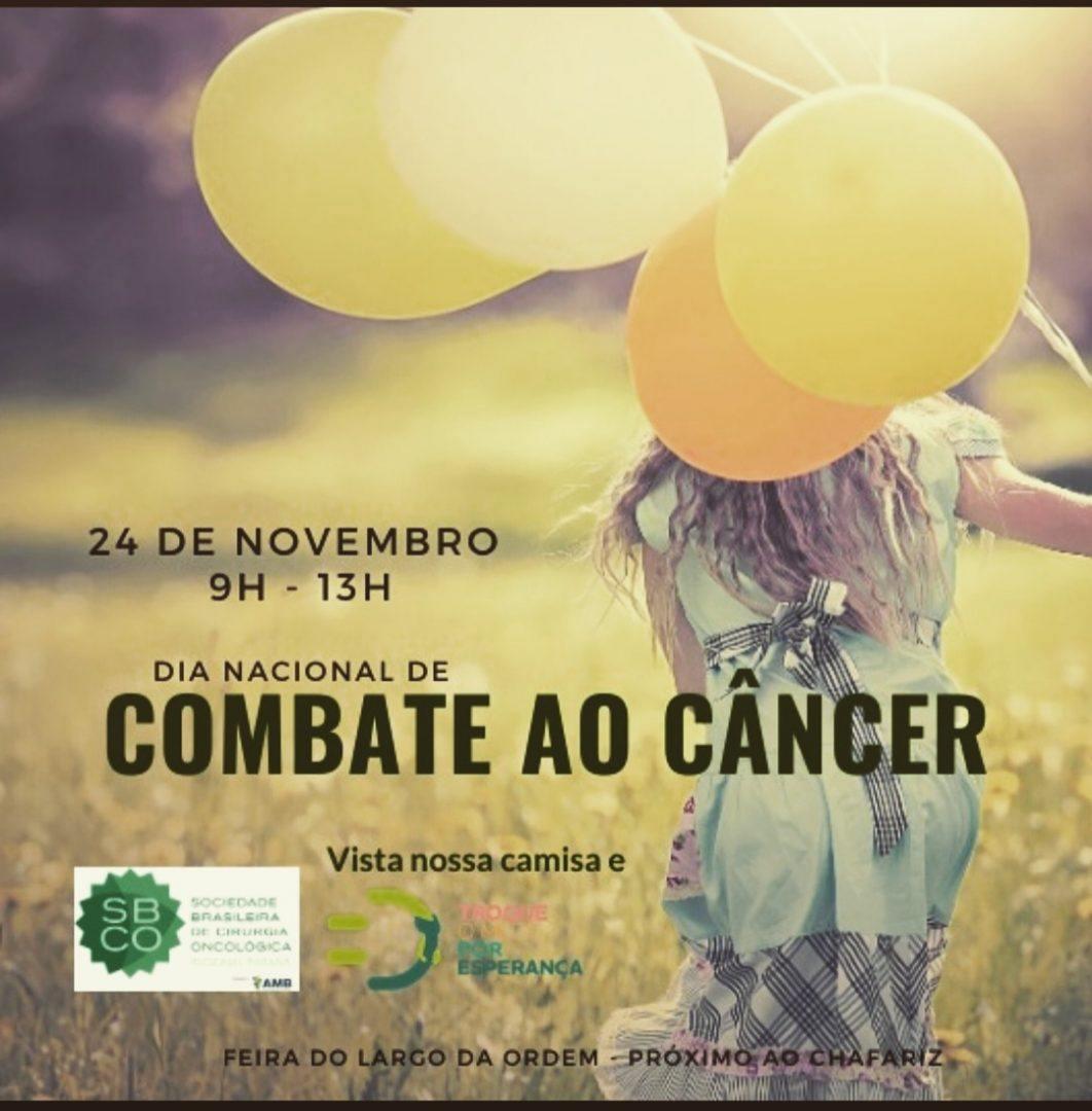 SBCO-PR no Dia Nacional de Combate ao Câncer