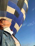 Bate, bate, bate na porta do céu! Minha experiência em voar de balão