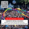🌈Fome não pode esperar: Camarote Virtual Solidário para ajudar pessoas com HIV e Aids